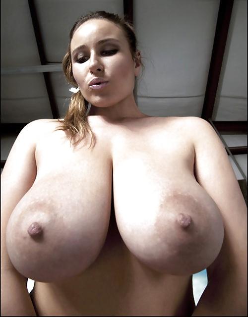Brüst in jeden Position, heiße sexy Aktbildern